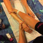 Handmassage op bedrijfsfeest in Ulft