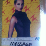 Backstage massage Alicia Keys
