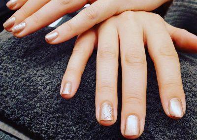 nailart op nagels