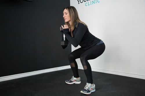 3 pauze tips squat