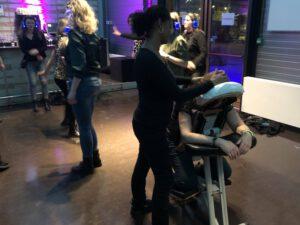 massage op een evenement